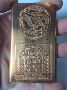 US - 1/2 pound - 999 copper bullion - Eagle - the Constitution of the United States
