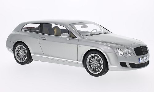 Best Of Show - 1:18 - Bentley Touring Silver Flying  Star