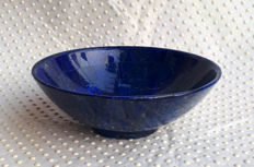 Large Size Best Quality Lapis lazuli bowl - 200 x 75 mm -  740 gm