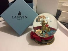Lanvin snow globe from Miss Lanvin collection.
