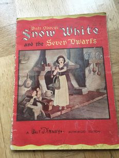 1938 Snow White Book, Whitman No. 927