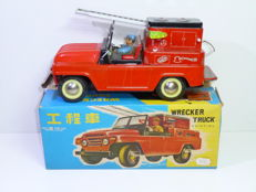 "STF, China - Length 24 cm - Tin ""Wrecker Truck"" MF 972 with friction motor, 1970s"