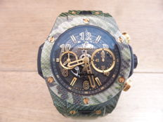 Hublot - Big Bang Unico Italia Independent Green Camo - 411.YG.1198.NR.IT116 - 男士 - 2011至今