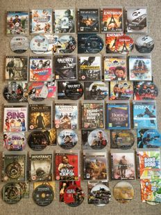 Massive bundle of SONY PS3 Games Inc Classics Like Grand Theft Auto IV - Red Dead Redemption - & Many Many More Playstation 3 Top Games