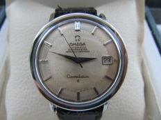OMEGA Pie Pan Piepan Constellation Chronometer Officially Certified. Men's wristwatch 1960s vintage watch, rare