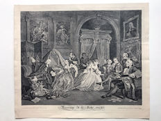 William Hogarth (1697-1764). Marriage a la Mode (plate IV). 1745