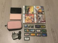 2x Nintendo Ds lite with 18 games including Mario& Sonic and more