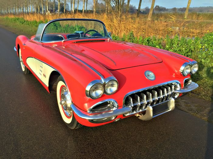 Chevrolet - Corvette C1 1958 Roadster - 1958