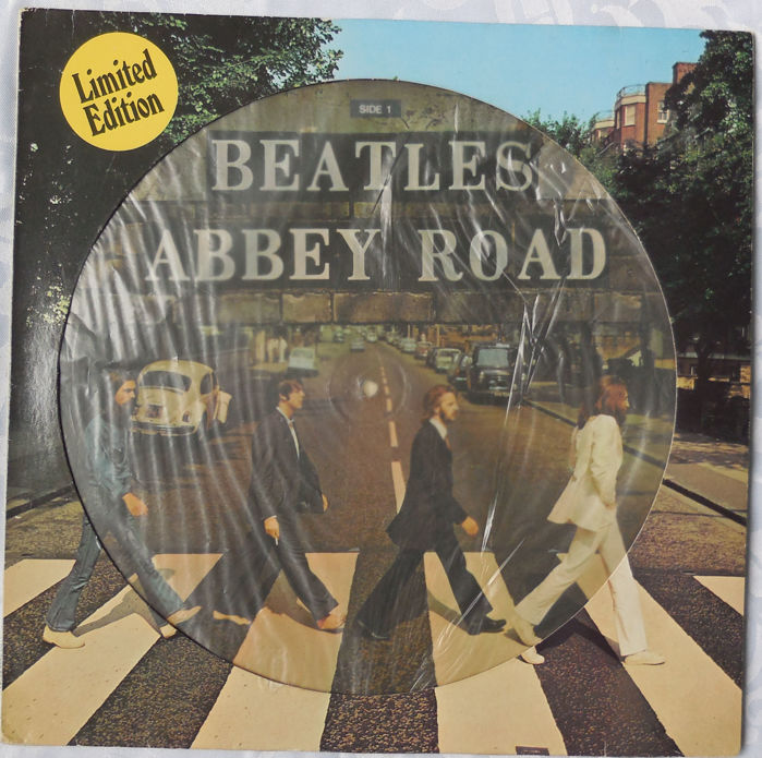 The Beatles Picture Disc Abbey Road Limited Edition EMI APPLE