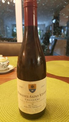 2007 Romanee Saint Vivant Domaine Follin Arbelet x 1 bottle 0.75l