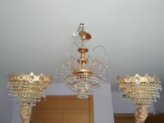 Lamp of tears with sconces, from the 20th century