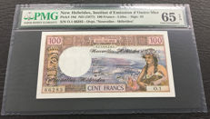New Hebrides - 100 Francs ND(1977) - Pick 18d