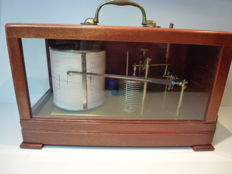 Mahogany English Barograph - Casella London