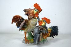 Ronzan- Fighting Roosters