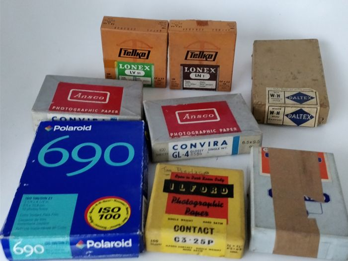 Collection of photo paper (several brands)