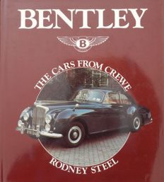 Bentley - The Cars from Crewe - Book - 24,5 x 22 x 2,5 cm - 1st Edition 1988