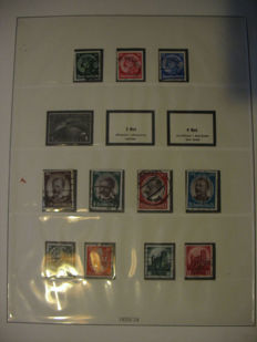 German Reich 1933-45 collection in mint Lindner T hingeless album