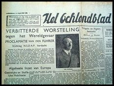 Newspapers WW II - Lot with 76 copies - 1941-1945