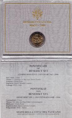 Vatican - 2006 - €2 – Centenary of the Pontifical Swiss Guard