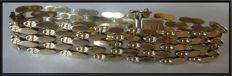 Fabulous retro 14ct yellow gold bracelet1950/1960s total weight 24 gr.