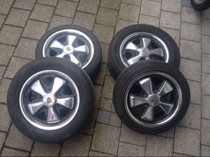Original Porsche Fuchs wheel rims 14''