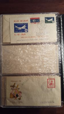 The Netherlands 1959/2002 - collection of FDCs in three albums