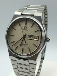 Omega Seamaster Day and Date 80's Gent ref 3960871 Cal 1345. Full set