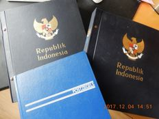 Indonesia 1949/2003 - Collection in 2 Davo albums and 1 stockbook
