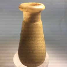 Small Egyptian Alabaster jug - length 5.7 cm