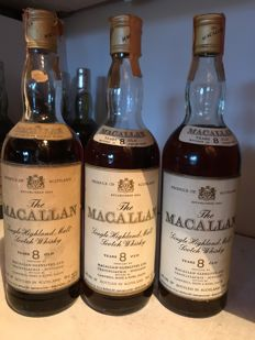 3 - Macallan 8 years old - Campbell, Hope & King - OB