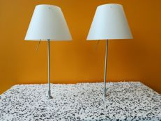 Paolo Rizzatto for Luceplan - Table lamp Costanzina (2x)