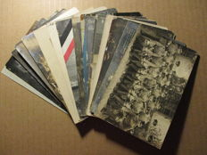 Lot of 18 military postcards and photo-postcards - German army - Military postage and cancellations - Germany