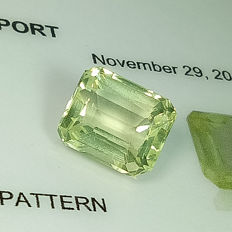 Yellowish Green Orthoclase - 3.39 ct