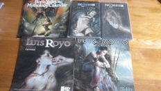 Luis Royo collection and Mythology Calendar - 2x hc - 1999/2001