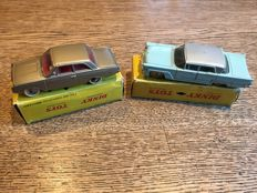 "Dinky Toys-France - Various scales - Ford Taunus No.559 and Lincoln ""Première"" No.532"