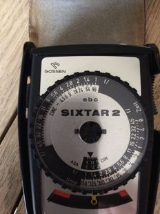 SIXTAR 2 Gossen light meter
