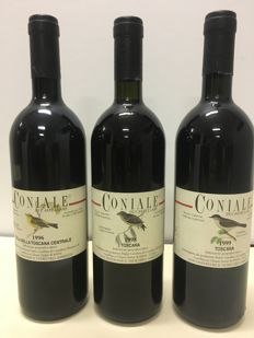 1996,1998,1999 Castellare di Castellina Coniale, Tuscany - 3 bottles (75cl)