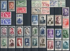 France 1924/55 - Selection of semi-classical stamps