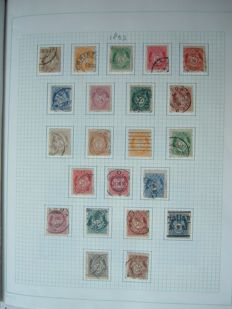 Norway 1910/1987 - complete including official stamps and postage due
