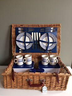 Picknickmand - 4 persoons - Picnic Basket - 4 persons