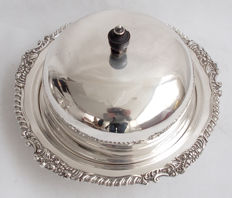Silver Plated Entree Dish