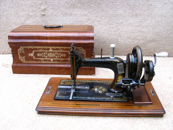 Antique Gritzner Durlach Sewing Machine Catawiki Stunning Gritzner Sewing Machine Price