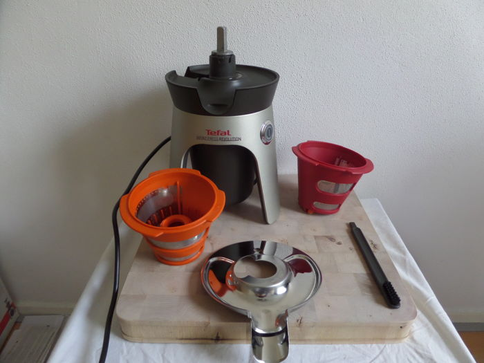Tefal Infiny Press Revolution Slow Juicer ZC500H38 - Catawiki