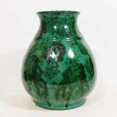 ESKAF - Large (26 cm) Art Deco glazed vase
