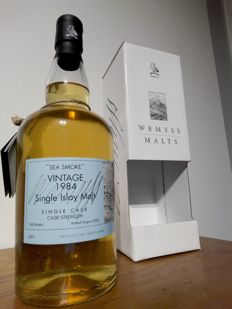 Caol Ila Vintage 1984 'Sea Smoke' Wemyss 24 years 55 %