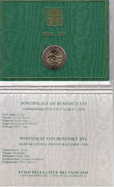 Vatican - 2010 - €2 - Year of the Priesthood