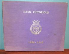 Presentation Book of the HMS Victorious, England 1966 - 1967