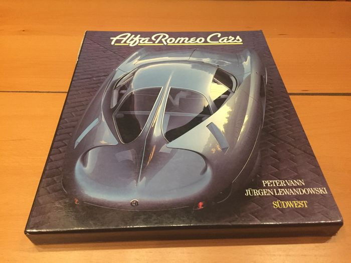 Alfa Romeo Cars - book