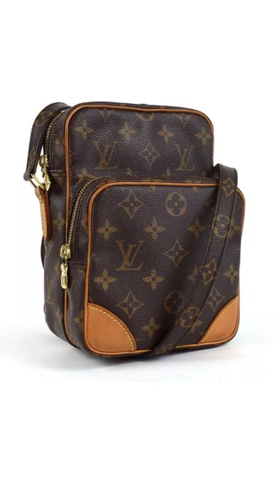 Louis Vuitton - Amazon Messenger Crossbody bag - Catawiki b4d2ff1fc6c6b