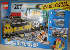 City - 66405 - Superpack Trains